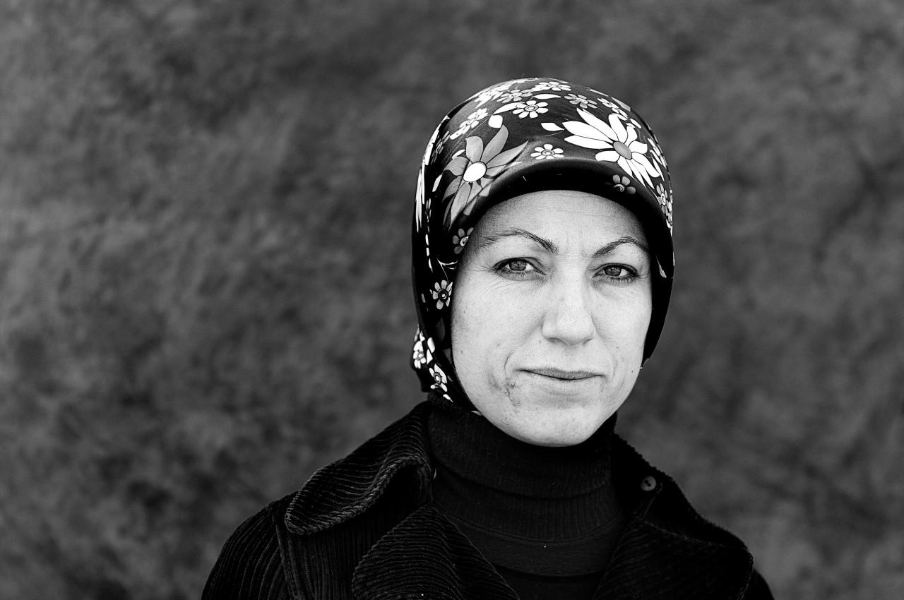 Portrait of Fatma Yildiz.