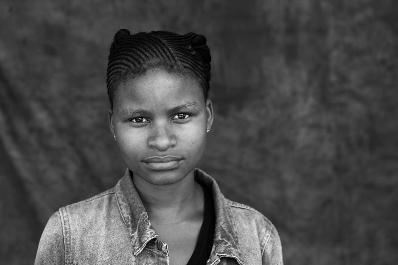 Portrait of Sindi Tshepiso Diutlwetse.