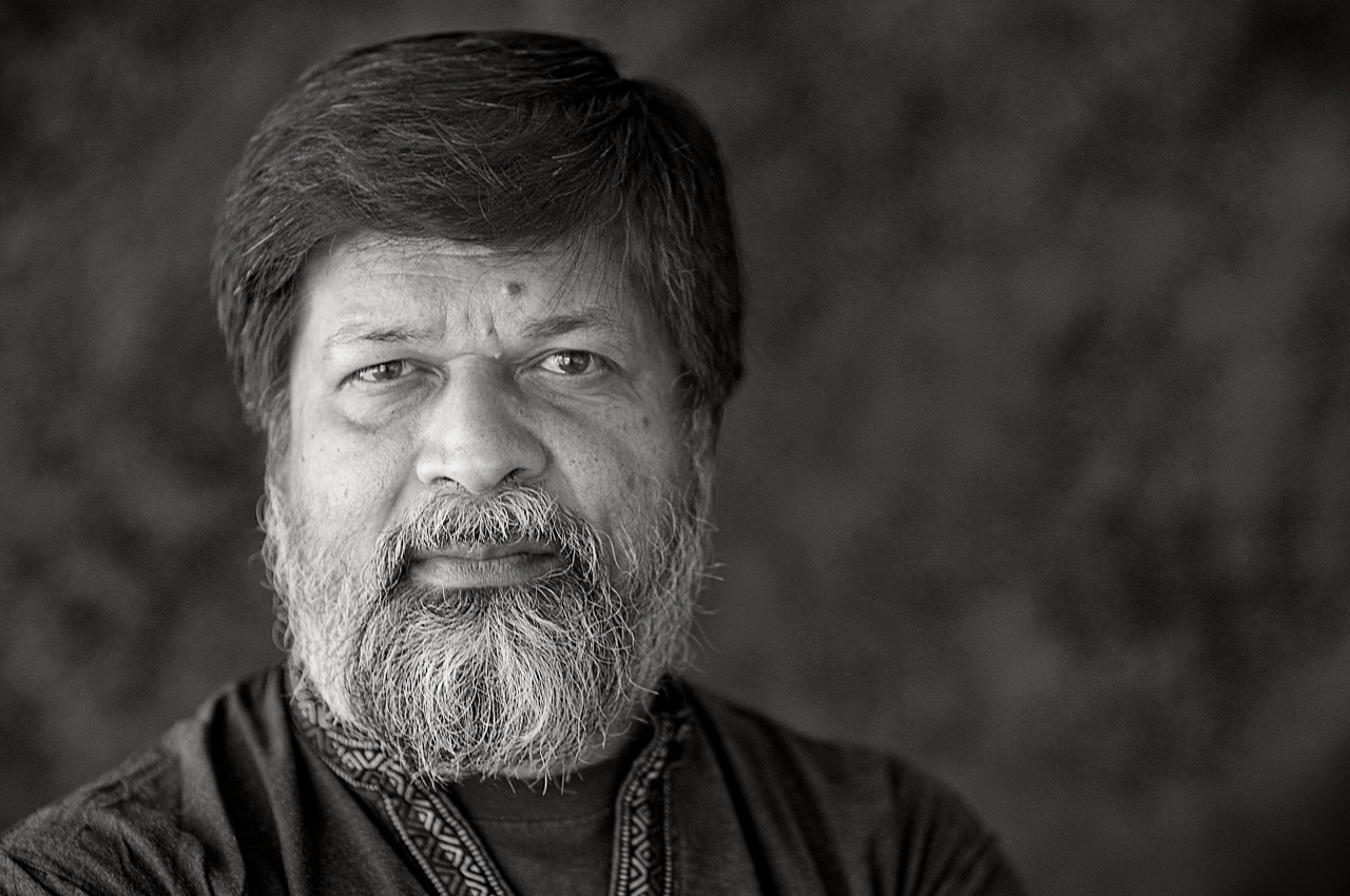 Portrait of Shahidul Alam.