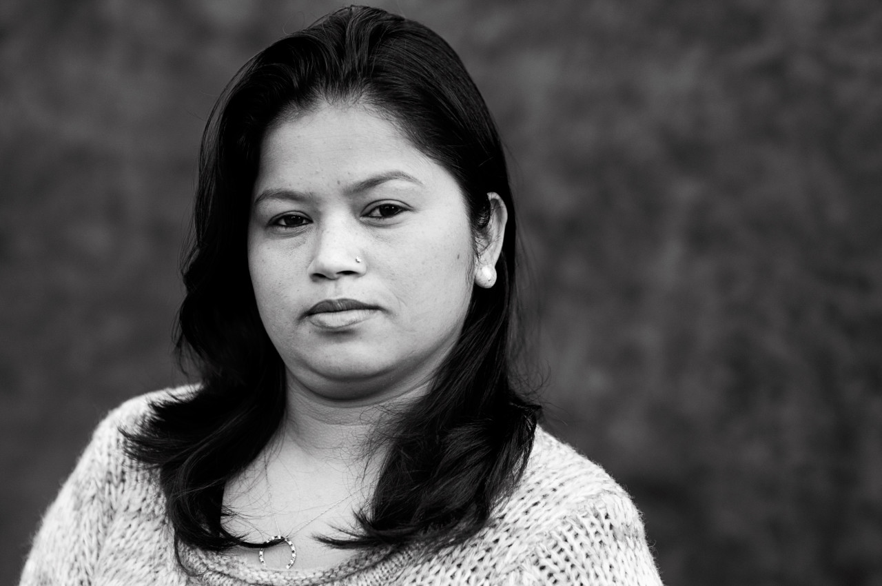 Portrait of Sangeeta Poudel.