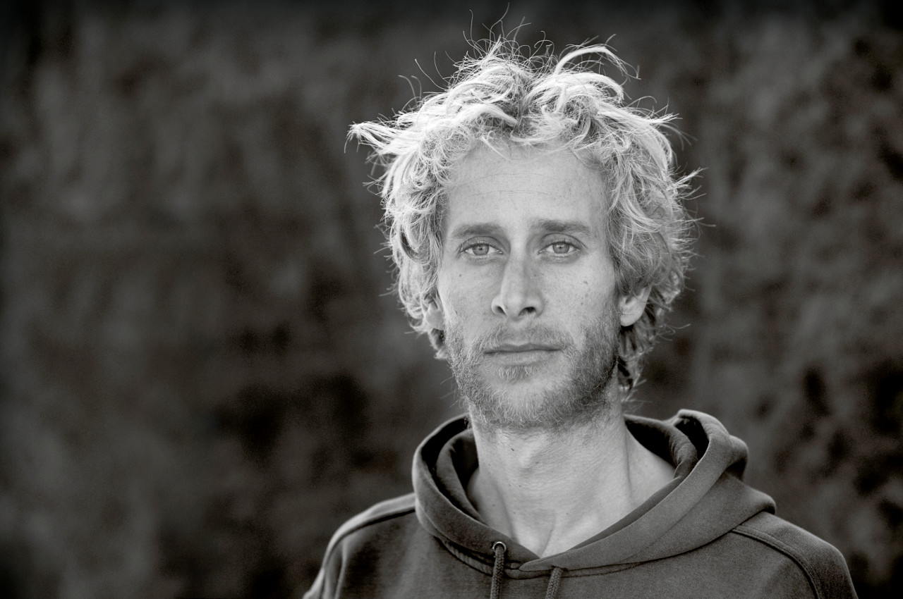 Portrait of Sam Crossley.