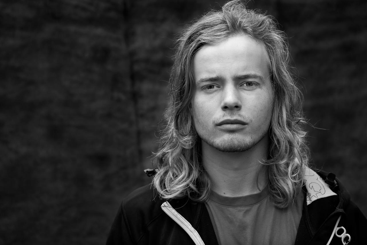 Portrait of Eirik Ulltang.