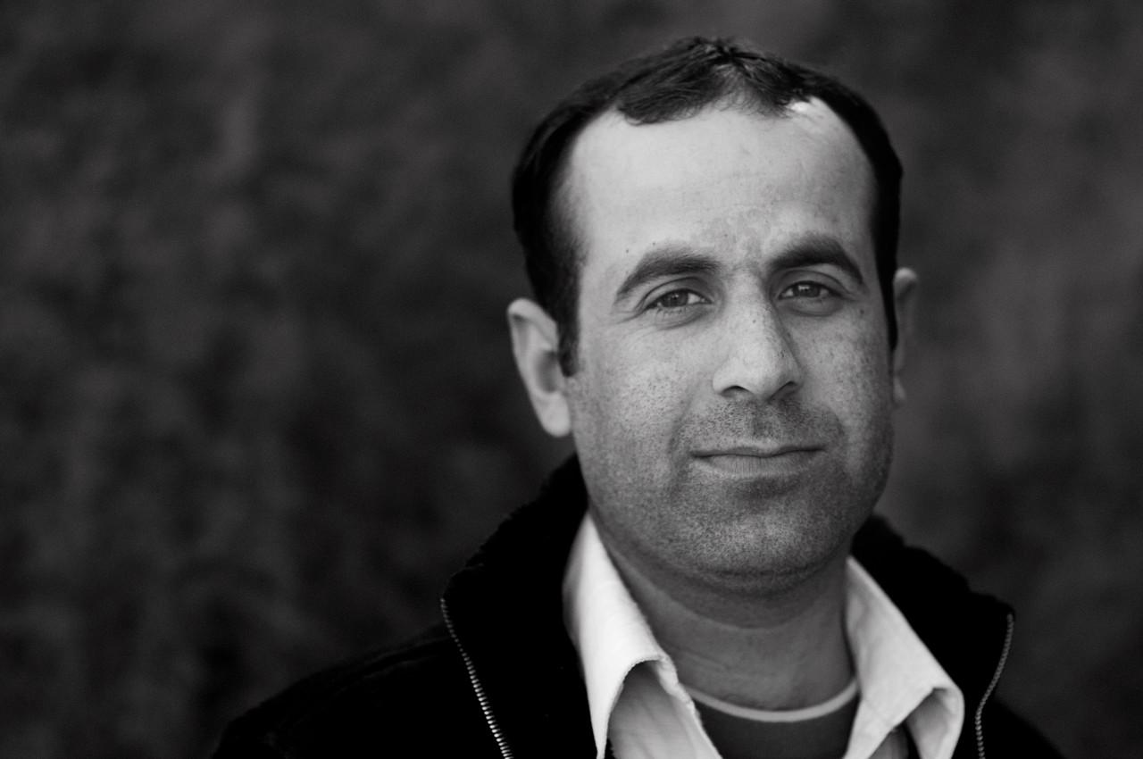 Portrait of Shoukat Shaheen.