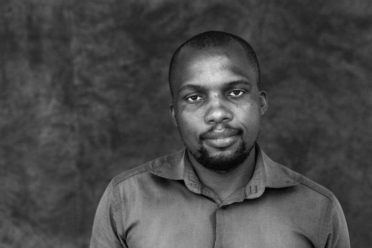 Portrait of Thabiso Bernard Ntshwene.