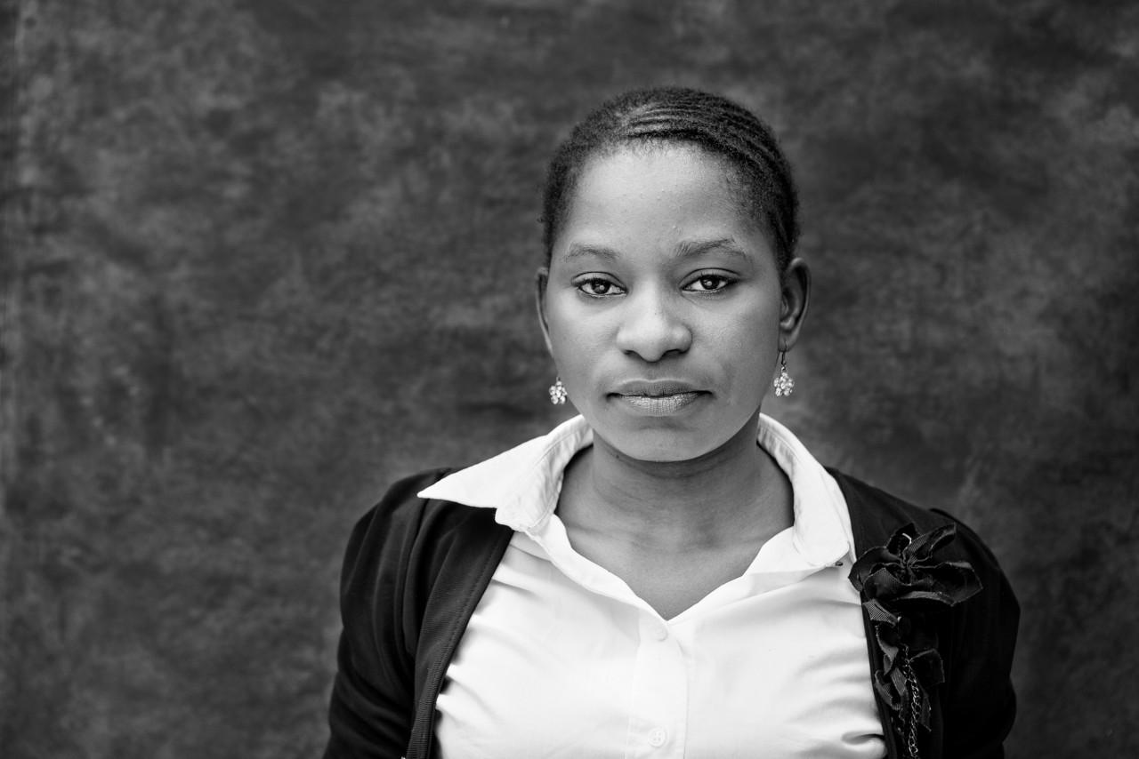 Portrait of Ester Chiluti.