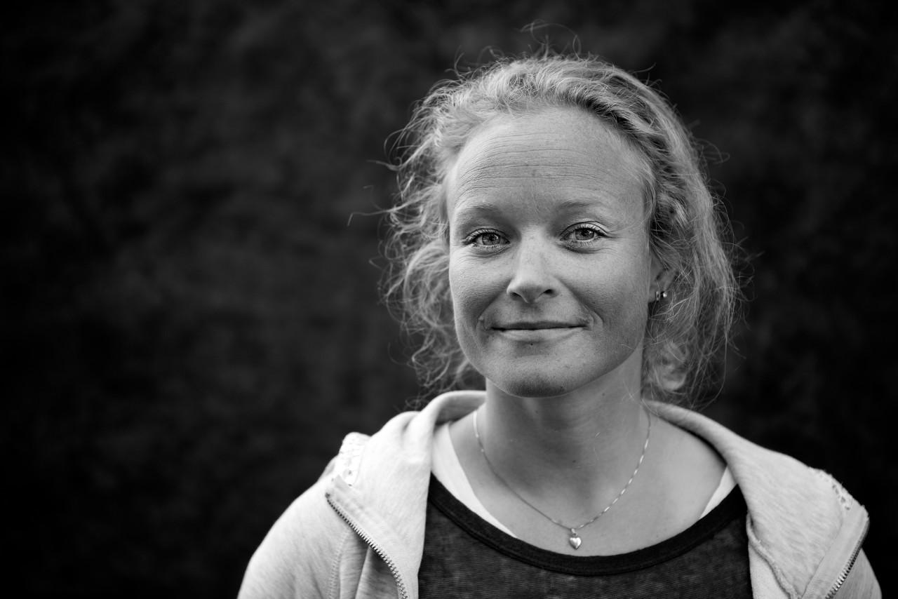 Portrait of Kristin Glück Evensen.