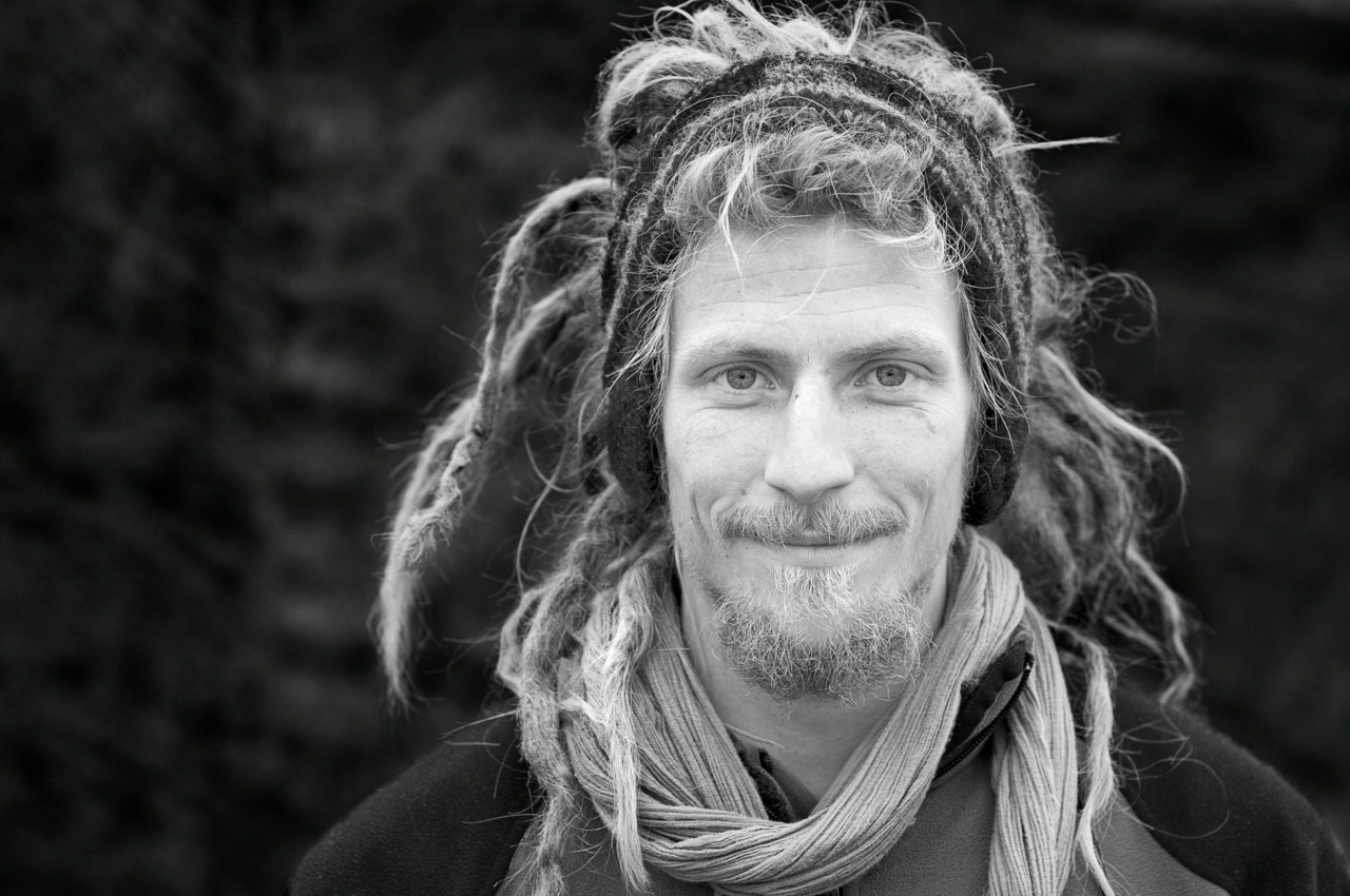 Portrait of Stefan Schelbert.
