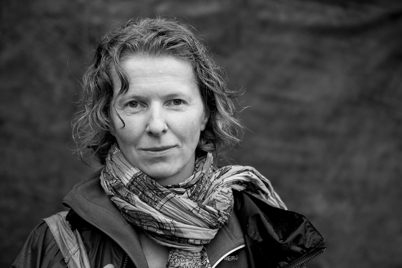 Portrait of Ellen Jenssen.