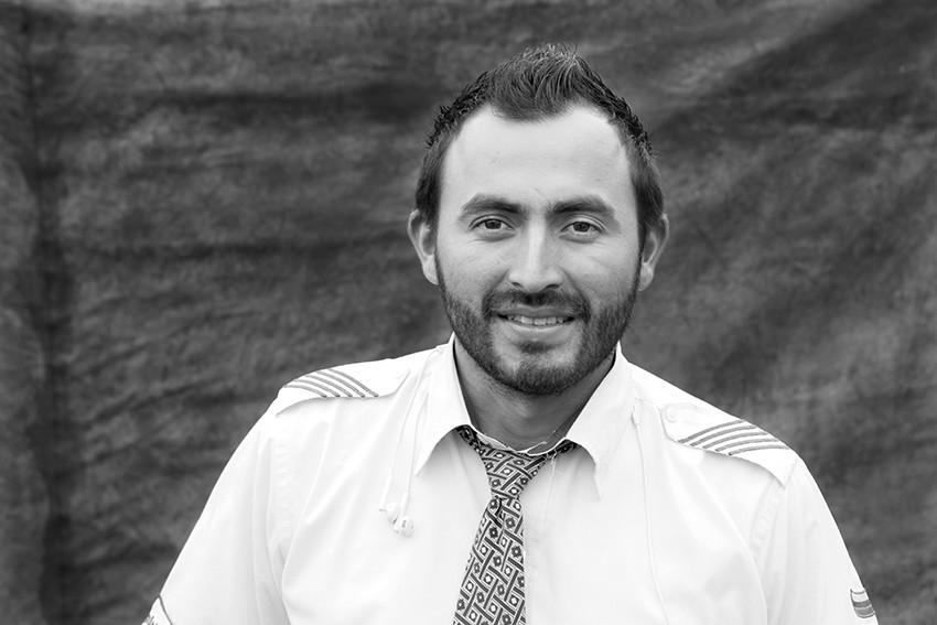 Portrait of Diego Fernando Barrios.