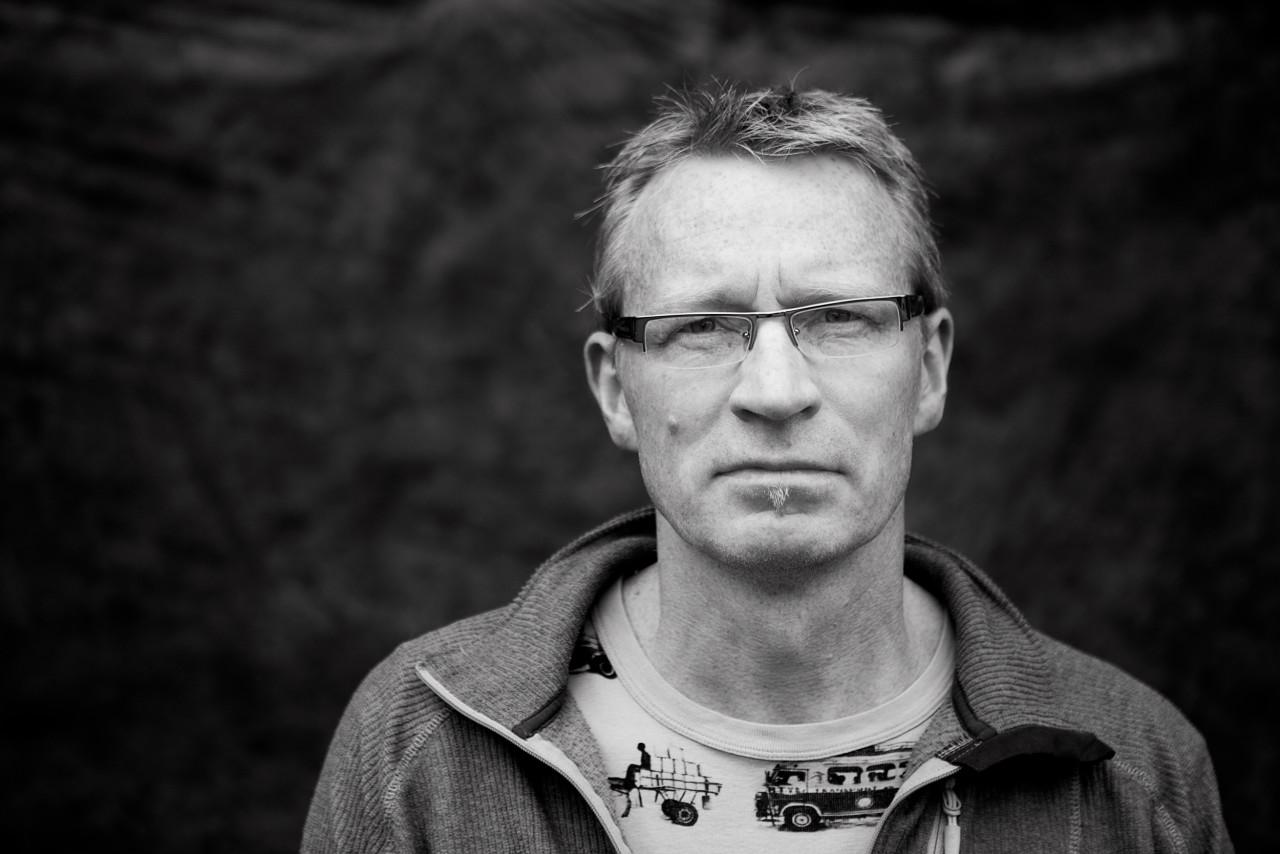 Portrait of Øyvind Høstaker.