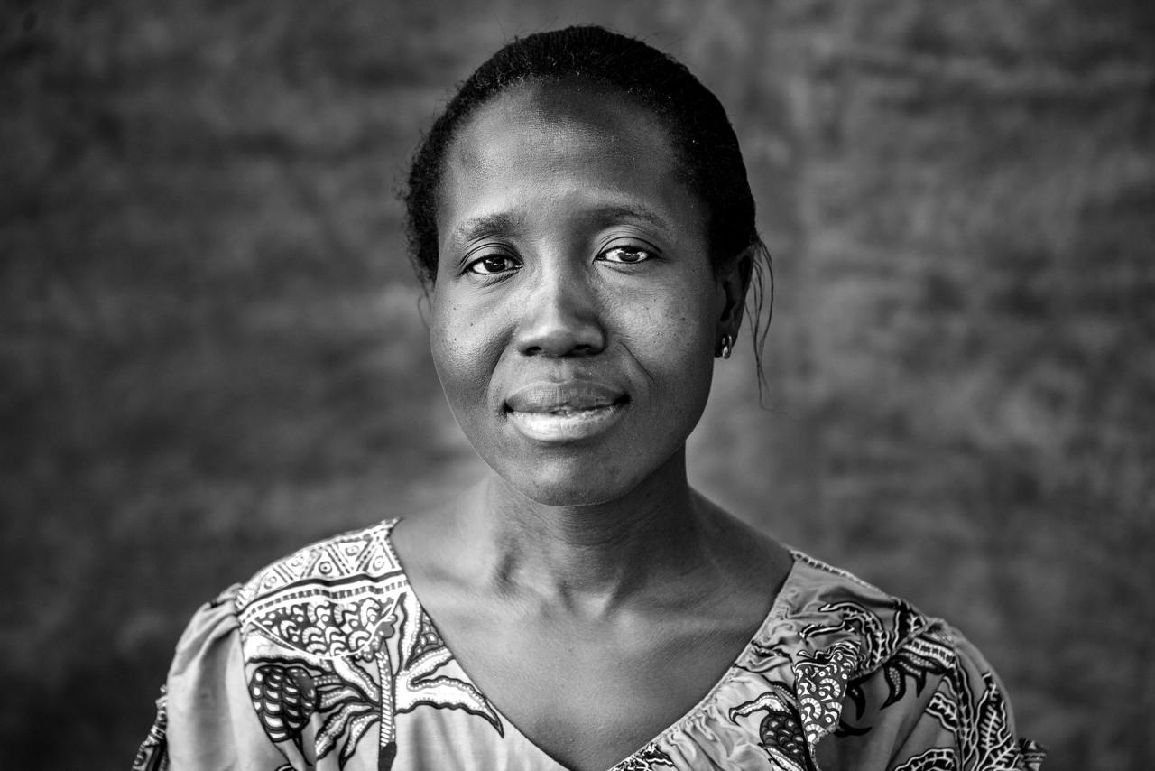 Portrait of Cynthia  Wangulu.