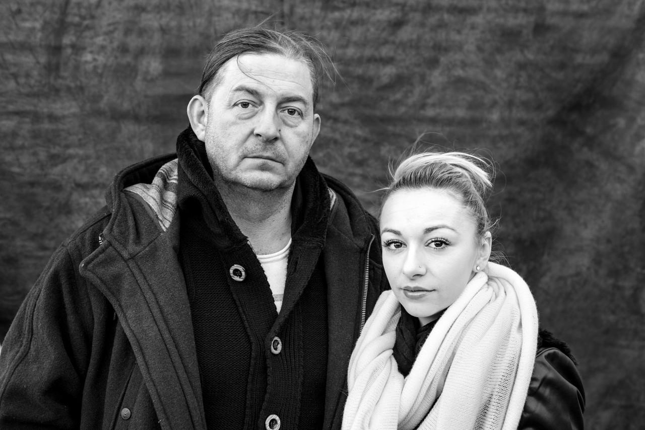 Portrait of Alen and Adela Gosto .