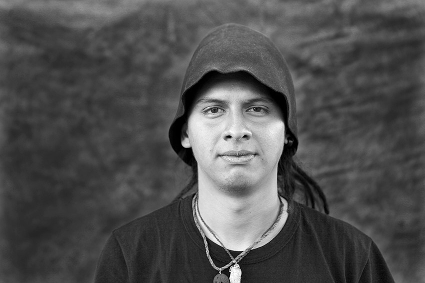 Portrait of Enzo Gabriel Baez.