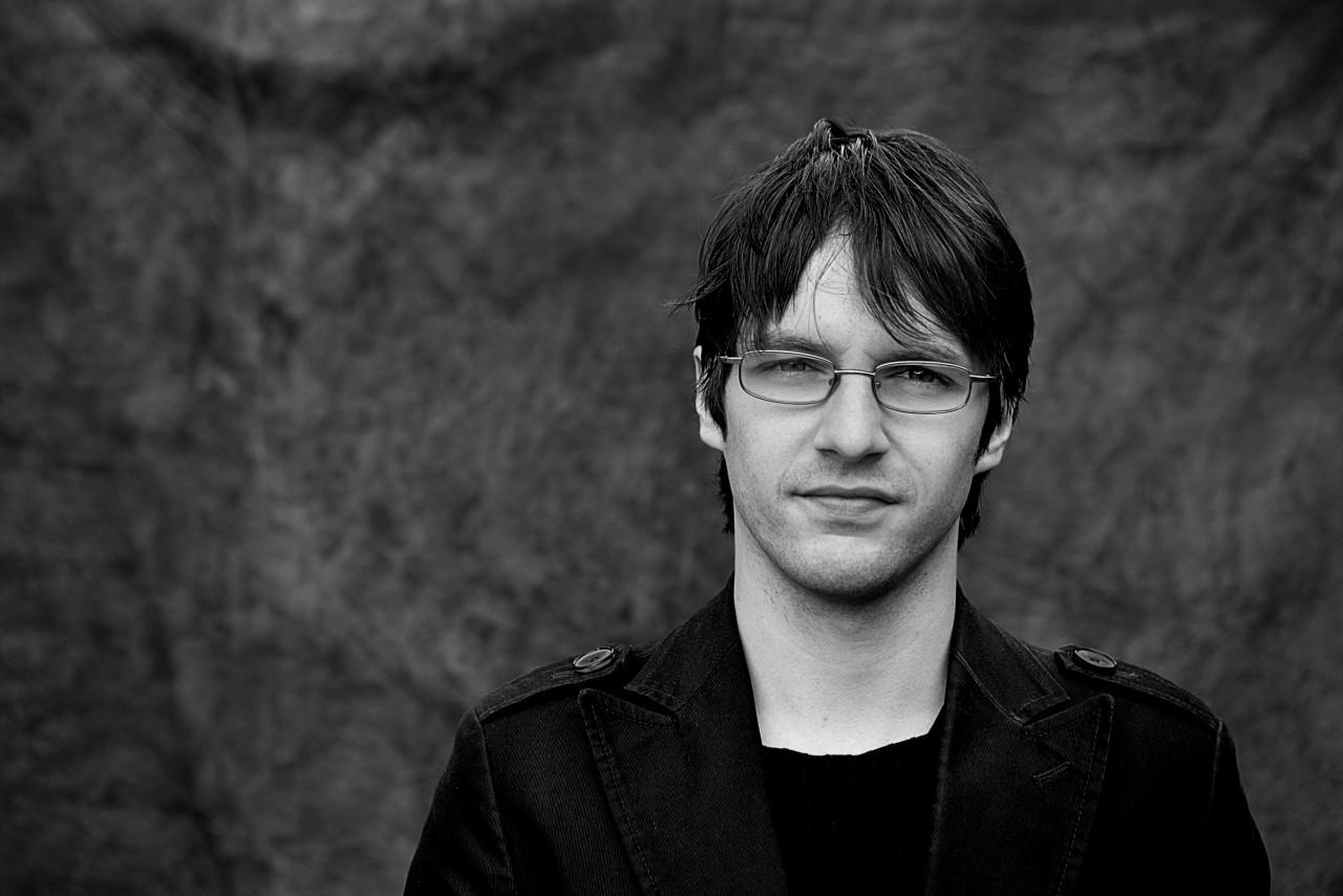 Portrait of Dimitris Kostopoulos.