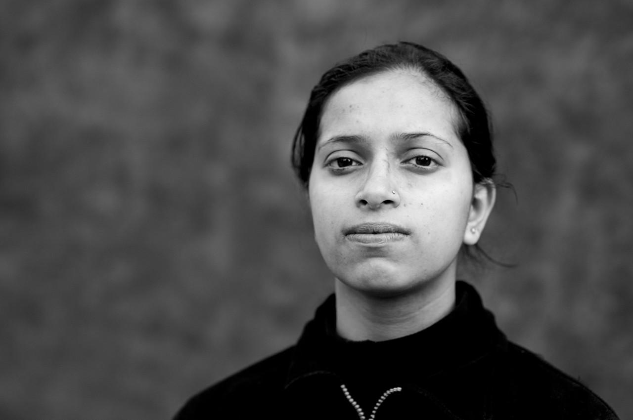 Portrait of Geeta Paudyel.