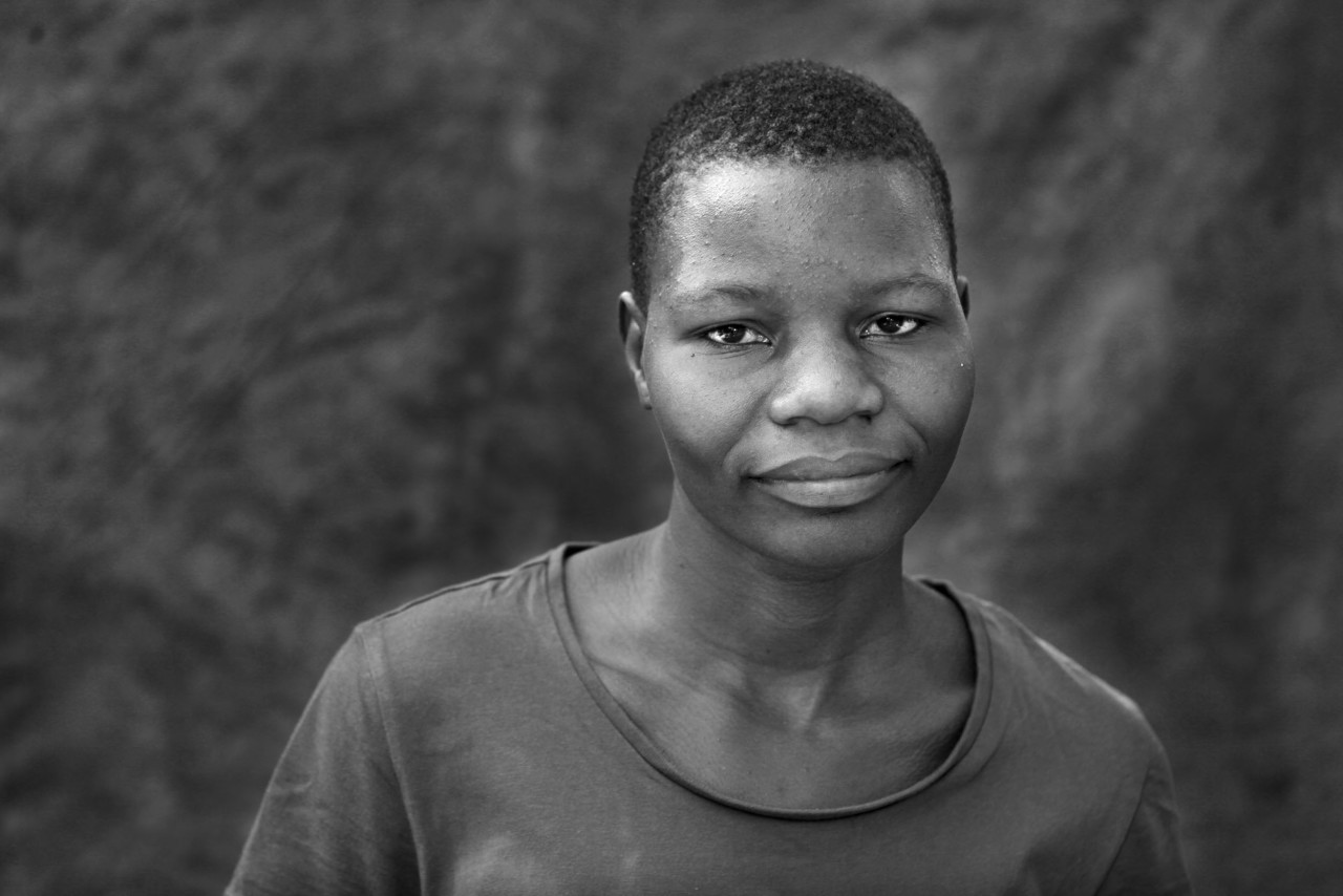 Portrait of Alice Matiza.
