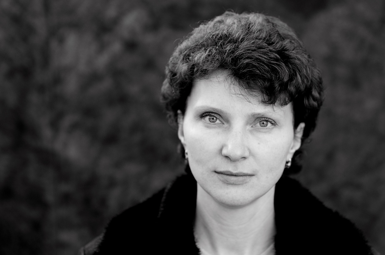 Portrait of Ljudmila Pankratova.