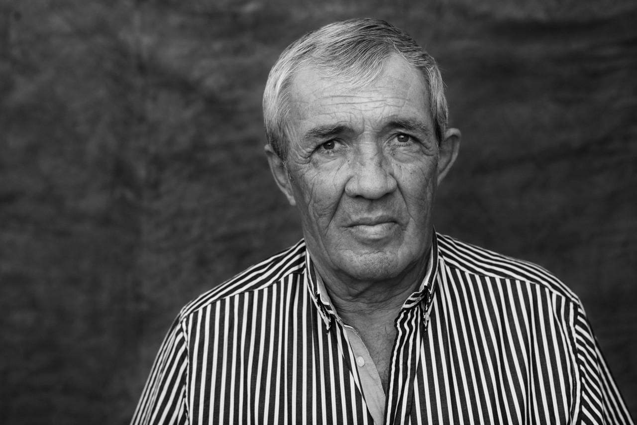 Portrait of Frans Burger.