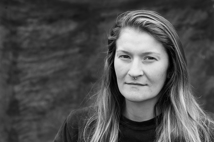 Portrait of Heather Huntley.