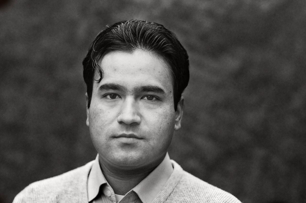 Portrait of Zahid Yaqeen.