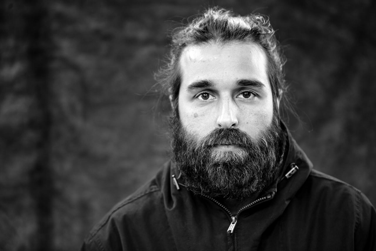 Portrait of Vagelis Karathanasis.