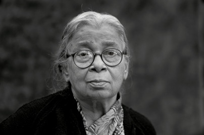 Portrait of Mahasveta Devi